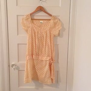 Yellow summer dress by Dalmys